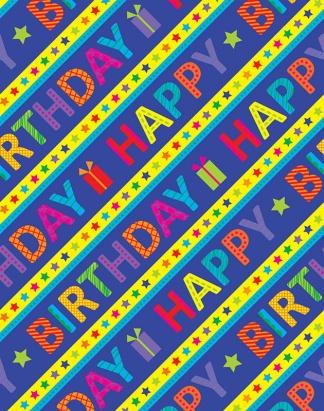 Birthday Stripes – 1703