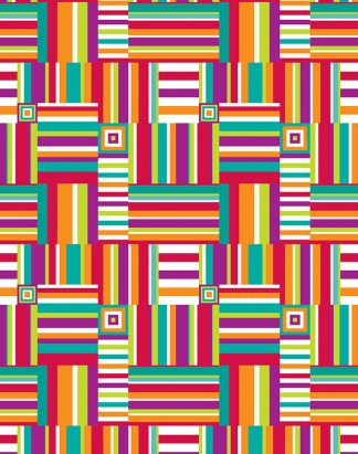 Stripe Patchwork – 1509