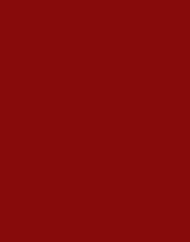 Red – Solid – 1238
