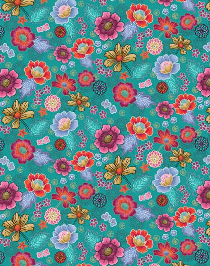 Asian Floral – 1420