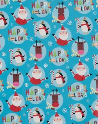 Happy Holiday Gang – Blue – 1714