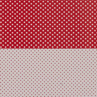 Red Dots – Reversible – 1717
