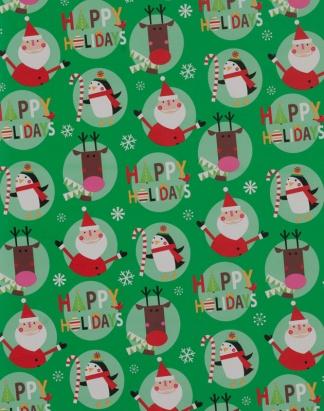 Happy Holiday Gang – Green – 1718