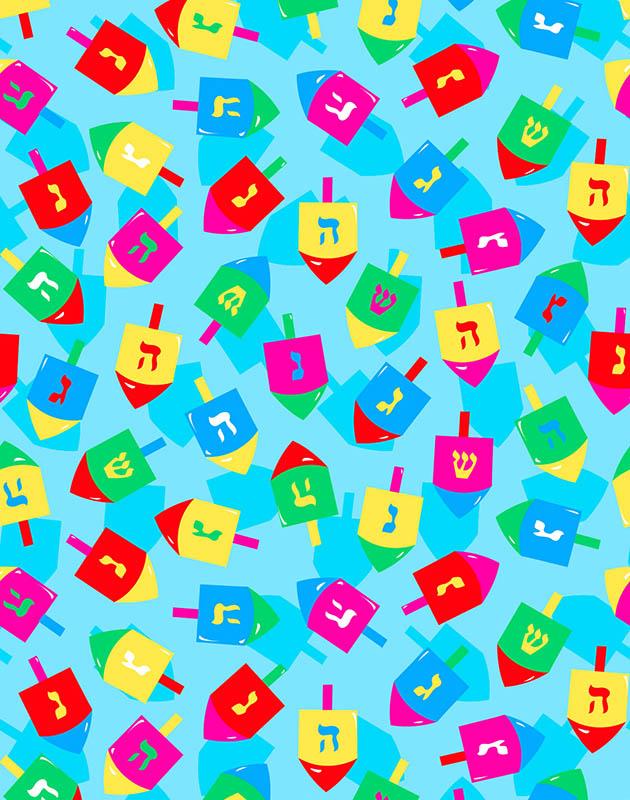 Colorful Dreidels – 2100