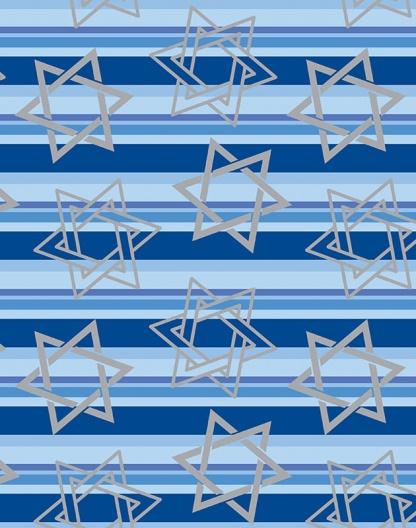 Chanukah Stripes – RX9001