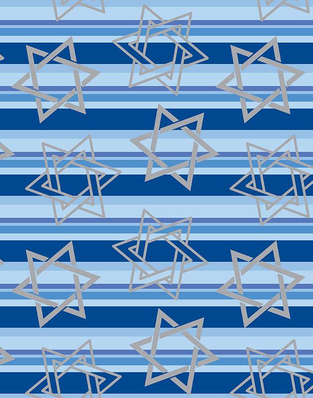 Chanukah Stripes – 9001