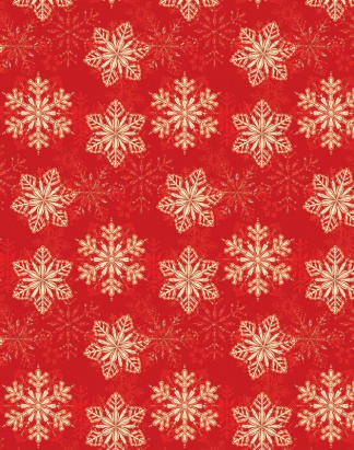 Red Snowflake – Foil – 1125