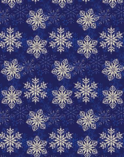 Blue Snowflakes – Holo – 1124